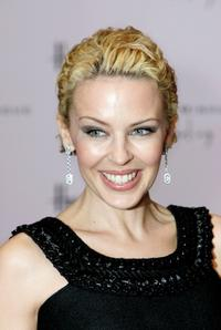 Kylie Minogue at the photocall to promote her new fragrance