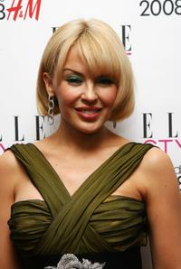 Kylie Minogue at the Elle Style Awards 2008.