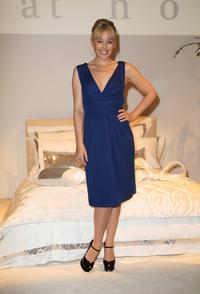 Kylie Minogue at the launch of Home Furnishings Range.