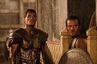 Henry Cavill and Stephen Dorff in