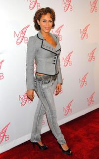 Nicole Ari Parker at the Will and Jada Smith party.