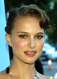"Natalie Portman at the premiere of ""Garden State"" in Los Angeles."