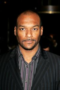 Colin Salmon at the after show party of the UK premiere of