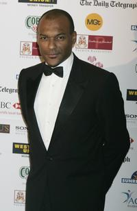 Colin Salmon at the VIP reception during the Sony Entertainment Television Asian Sports Personality Of The Year Awards.