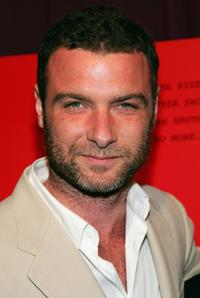 Liev Schreiber at the hosted screening by The Cinema Society & DKNY Jeans for