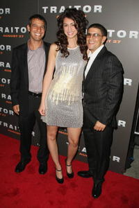 Director Jeffrey Nachmanoff, Mozhan Marno and Said Taghmaoui at the premiere of
