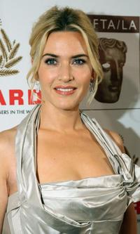 Kate Winslet at the British Academy of Film and Television Arts.