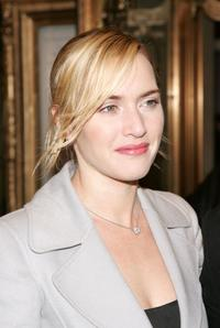 Kate Winslet at the New York opening night of
