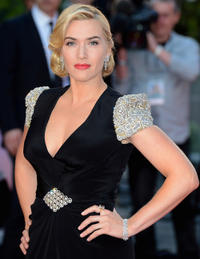 Kate Winslet at the world premiere of