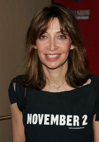 Illeana Douglas at the Comedy Central Election Night Party.