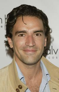 Ben Chaplin at the launch Party for Calvin Klein's new fragrance Eternity Moment.
