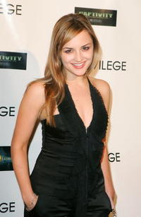 Rachael Leigh Cook at the premiere party for 'Captivity' in West Hollywood, California.