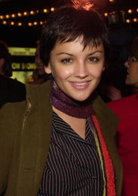 Rachael Leigh Cook at the opening of