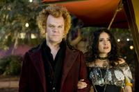 John C. Reilly as Larten Crepsley and Salma Hayek as Madame Truska in