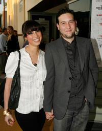 Diane Gaeta and Christopher Marquette at the screening of