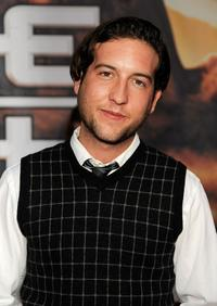 Christopher Marquette at the premiere of