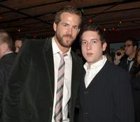 Ryan Reynolds and Christopher Marquette at the after party of the premiere of