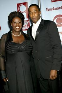 Michael McElroy and Guest at the 58th Annual Tony Awards.