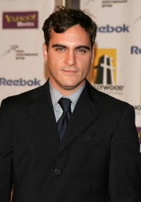 Joaquin Phoenix at the 9th Annual Hollywood Film Awards in Beverly Hills.
