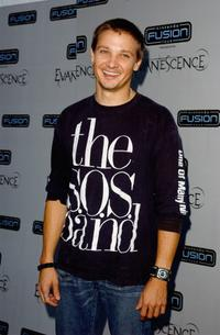 Jeremy Renner at the VIP pre-party for the first-ever