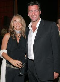 Ray Stevenson and Guest at the after party of the premiere of