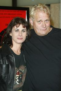 Sian and her husband Bo Hopkins at the 40th Anniversary screening of