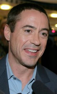 Robert Downey, Jr. at the Sydney premiere of