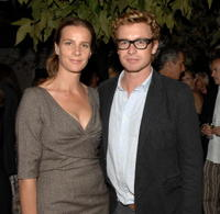 Simon Baker at the 35th Annual People's Choice Awards.