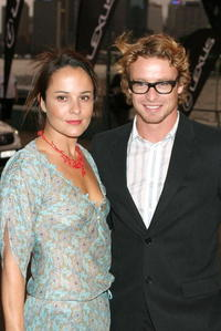 Simon Baker at the CW/CBS/Showtime/CBS Television TCA party.