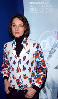 Jeanne Balibar at the screening of