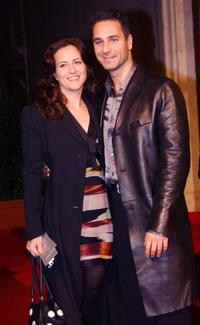 Raoul Bova and wife at the after show party of the European premiere of