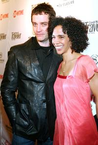 James Frain and wife Marta Cunningham at the premiere of