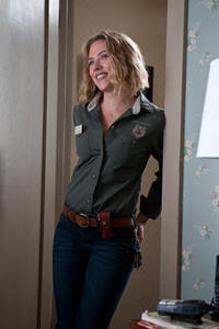 Scarlett Johansson as Kelly Foster in ``We Bought a Zoo.''