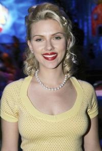 Scarlett Johansson at the Los Angeles afterparty premiere of