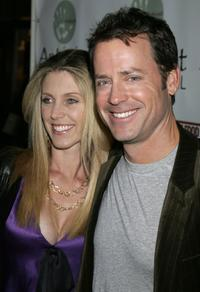 Greg Kinnear and his wife Helen Labdon at the premiere of