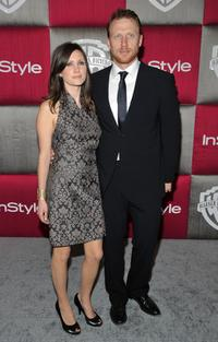 Jane Parker and Kevin McKidd at the InStyle/Warner Bros. after party during the 66th Annual Golden Globe Awards.