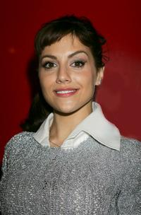 Brittany Murphy at the Pet-A-Porter dog fashion show.