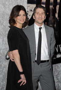 Jeanne Tripplehorn and Leland Orser at the California premiere of
