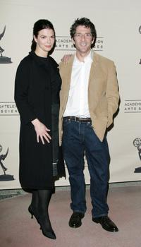 Jeanne Tripplehorn and Leland Orser at the ATAS,