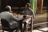 Laurence Fishburne and Ryan Phillippe in
