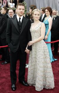 Ryan Phillippe and Reese Whitherspoon at the 78th Academy Awards.