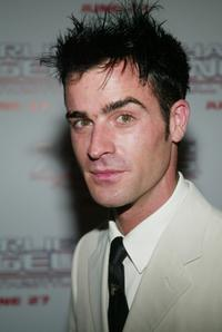 Justin Theroux at the New York screening of