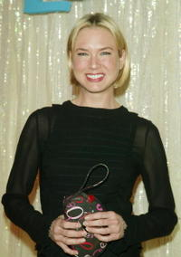 Renee Zellweger at Bloomingdale's in New York City.