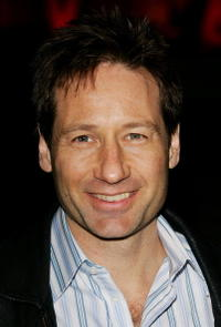 David Duchovny at the Vanity Fair Party For The 5th Annual Tribeca Film Festival in New York City.