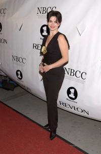 Karen Duffy at the National Breast Cancer Coalition.