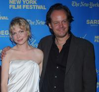 Michelle Williams and Larry Fessenden at the premiere of