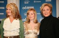 Olympia Dukakis, Sarah Polley and Julie Christie at the Away From Her press conference during the Toronto International Film Festival.