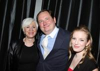 Olympia Dukakis, Stephen Whitty and Sarah Polley at the 2007 New York Film Critic's Circle Awards at Spotlight.