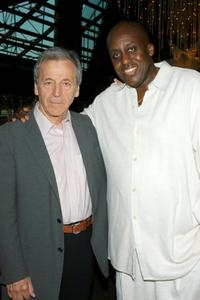 Bill Duke and Costa-Gravas at the after the screening of the festival closing film