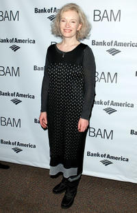 Lindsay Duncan at the after party of John Gabriel Borkman in New York.
